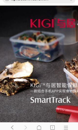 """🎁🎁🎁""""與居""""智能保鲜盒~KIGI SmartTrack"""