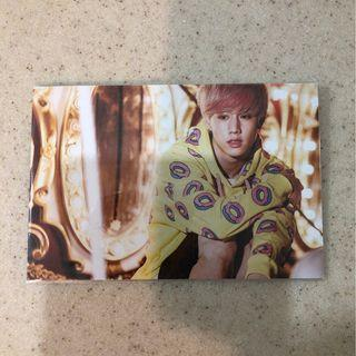 GOT7 Official Just Right Mark Postcard