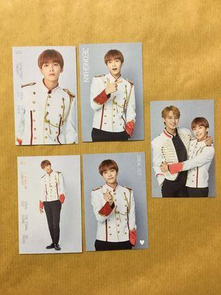 WTS JEONGHAN TRADING CARD