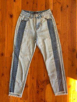 Shadow Panel Jeans Size 6
