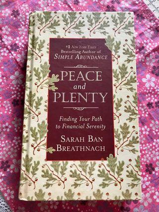 PEACE AND PLENTY - Finding Your Path To Financial Serenity