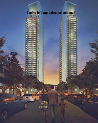 2 bedder at Highline Residences near Tiong Bahru MRT