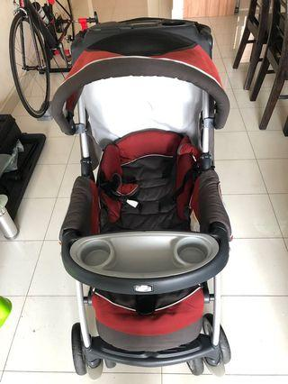 Chicco Cortina Stroller and Car Seat