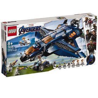 全新 Lego Marvel Super Hero Avengers Ultimate Quinjet 76126