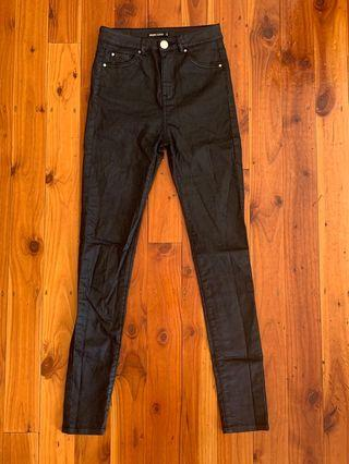 Glassons Wet Look Jeans Size 6