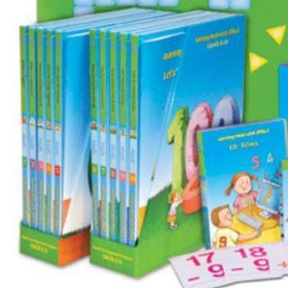 ETL Maths Learning collection (All books + CD ROM)