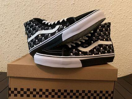 13a329cfe4 Mastermind x Vans Japan Exclusive Sk-8 Hi Skull And Cross Bones
