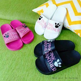 Sandal slipper pink panther