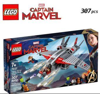 Lego captain marvel set 76127