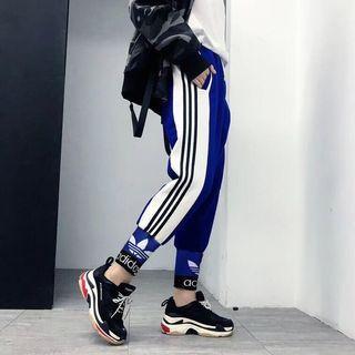 Adidas 2019新女款縮口長褲