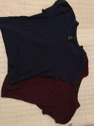 Forever 21 Cropped T-shirt's