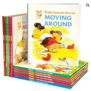 Treks Travels WORLD BOOK Collection for children