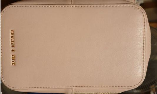 Charles and Keith Rose Gold Purse