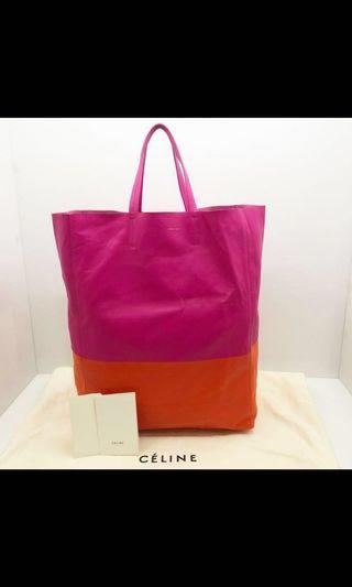 🚚 (Reserved) Celine Bicolour Cabas Tote (Authentic)