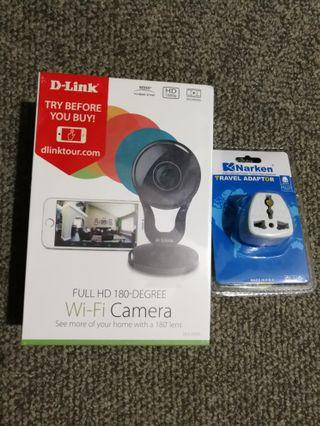 D-Link DCS-2530L FULL HD WiFi 180-Degree Camera