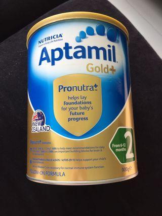 Aptamil Gold Plus Formula Milk Powder Stage 2 #EndgameYourExcess