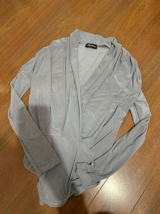 Tobi grey bodysuit