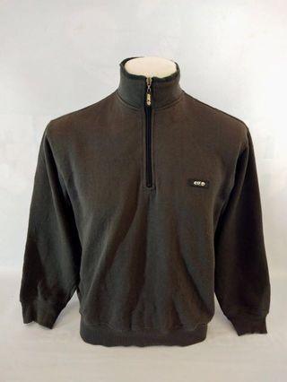 Elf Sweatshirt Sweater Half Zipper