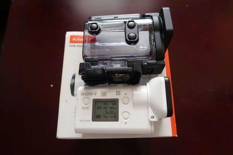 Sony最好用嘅action cam!90%新FDR-X3000 有WiFi GPS 光學防震 4K 防水濺 ZEISS廣角鏡