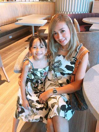 Mom&Baby Leafy Dress