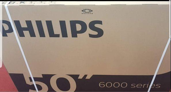 """SPECIAL OFFER TILL 29 APRIL 2019. BRAND NEW PHILIPS 50"""" ULTRA HD 4K SMART DIGITAL LED TV for $777- FIXED PRICE. SELF COLLECT or pay $18 for delivery- Very clear resolution and Best PRICE. REGULAR PRICE- $1099"""