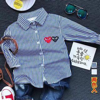 Preloved baby boy Stripe Shirt