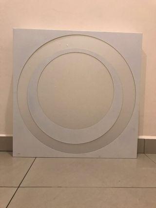 65cm Square Ceiling Light
