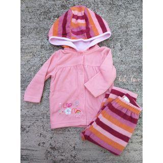 Juniors Fleece Jacket with Pants