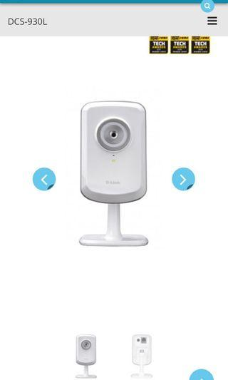 D-link DCS-930L wireless ip camera (3mths old with 1 year warranty)