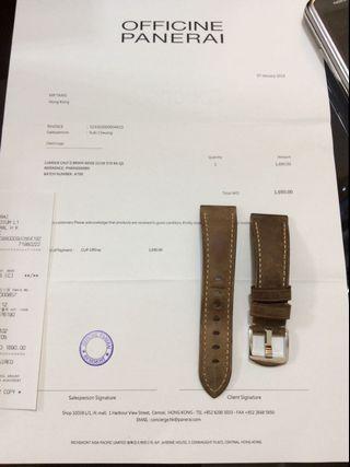 Panerai 22 / 18 mm 原裝錶帶 連單 不連扣