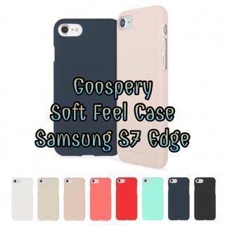 Goospery Soft Feel Case for Samsung Galaxy S7 Edge (SMG935)
