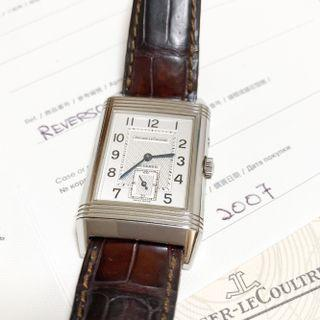 Jaeger LeCoultre Reverso Duoface Night & Day Watch 270.8.54