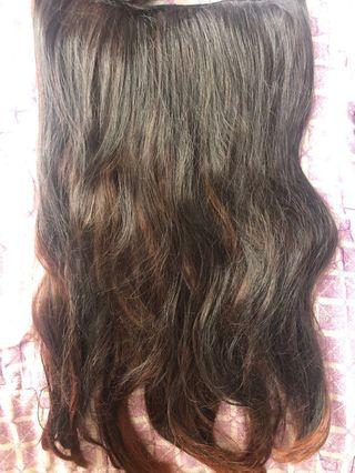 FREE ONGKIR Hair Clip Rosegold Ombre