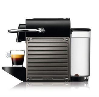 Nespresso Pixie Electric Titan Coffee Machine