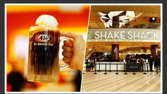 Queue Stander for A&W / Shake Shack Changi Jewel