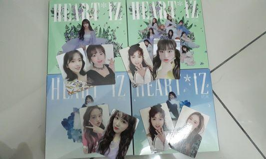 WTT WTB WTS IZONE Cover, photobook, and photocards