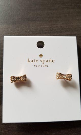 Kate Spade ready set bow Earrings