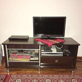 TV Console Walnut 4 feet