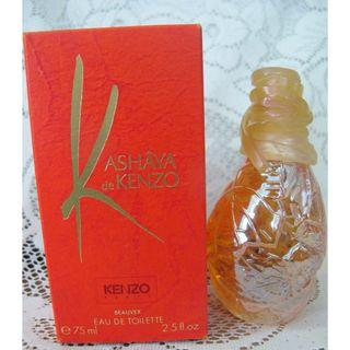 CLEARANCE ! 75ml Kenzo Kashaya De Kenzo EDT Women Perfume SPLASH with box ! Authentic and Genuine !