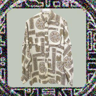 🚚 小飛俠✔特別剪裁穿上去效果極佳×襯衫×長袖×古著