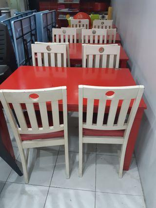 Wooden Table & Chair