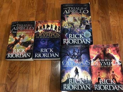 🚚 Rick Riordan Reading Books
