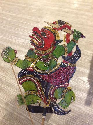 Wayang Kulit Hanuman