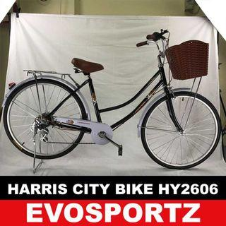 🚚 Harris City Bike HY2606 (Black)