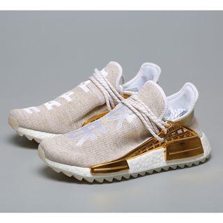 fd207337e0c7e Pharrell Williams x Adidas NMD Hu  China  Gold F99762
