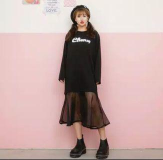 Dress Rok Vintage Korea