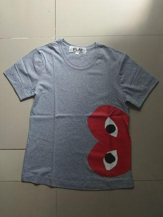 T-shirts play by cdg