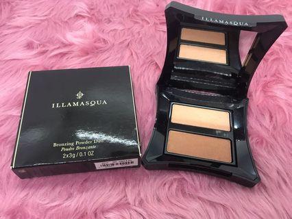 Illamasqua Bronzing Powder Duo Poudre Brozante - Glint&Ra