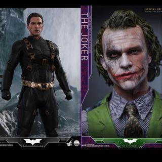 Hot toys 全新1/4 Batman qs009 加1/4 joker qs010特別版單