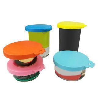 Silicone canned food sealer lid for dogs or cats